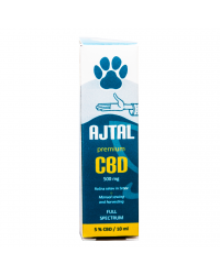 CBD kapljice Premium 5% za hišne ljubljenčke 10 ml