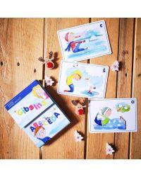 Joga za otroke - kartice gibalna abeceda